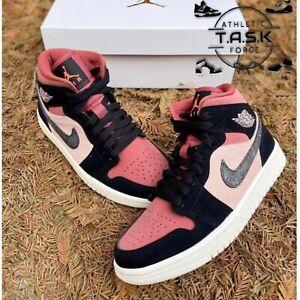 "💯 Nike Air Jordan 1 Mid ""Canyon Rust"" Sz 9 WMNS BQ6472-202 NEW IN BOX"