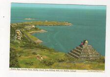 Dublin Bay Sorrento Point Dalkey Island Ireland 1988 Postcard 873a