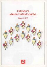 Citroen 2CV Club Charleston 1987-88 Original German Sales Brochure No. M1270188
