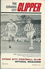 STOKE CITY V QUEENS PARK RANGERS ~ 21 SEPTEMBER 1968