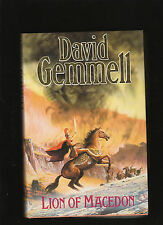 DAVID GEMMELL.LION OF MACEDON.IST UKED. HARDCOVER W JACKET.NICE COPY!