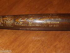 1973 HOF Induction Bat-Clemente,Spahn, Irvin, Evans, Kelly, Welch- 377/500