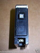 Cutler Hammer GQ 1 pole 20 amp 120v 277v GQ1020 Circuit Breaker