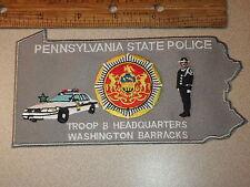 PENNSYLVANIA STATE POLICE TROOP B HEADQUARTERS  WASHINGTON  BARRACKS