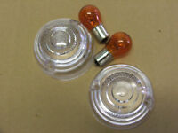 CLASSIC MINI - FRONT CLEAR INDECATOR KIT SCREW TYPE