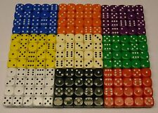 100 x Dado 14mm dado Juegos De Mesa Educativo Recursos RPG NUEVO