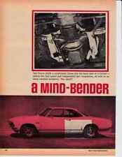 1968 CHEVROLET CORVAIR - CHEVY SMALL-BLOCK  ~  NICE ORIGINAL 3-PAGE ARTICLE / AD