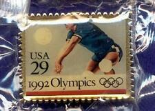 New ~ Usps 29 Cent Postage Stamp w/ Perforations Men's Olympic Volleyball Pin