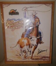Don Dane Silver Dollar City Great American Cowboy Exclusive Poster Signed