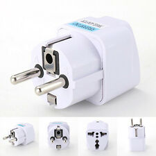1Pc AU UK US to EU Power Socket Plug 3 USB Charger Adapter Converter For Phone