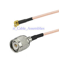 """UMTS Antenna Pigtail Cable 6"""" MCX to TNC Male for Broadband Router Ericsson W30"""