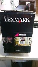 Genuine 24B5833 Magenta Toner for Lexmark XS796  Brand New See Photos 18k H/Y