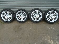 "VAUXHALL VECTRA C SET OF 4 X ALLOY WHEELS AND TYRES 17"" 215/50/R17  ZAFIRA B"