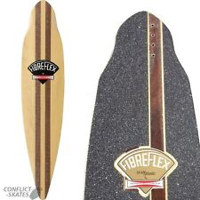 "G&S FIBREFLEX ""Pintail 38"" Skateboard Longboard Deck & Grip Gordon Smith 38"""