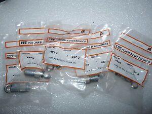 ITT POMONA 4980 COAXIAL CONNECTORS 9218/L NEW
