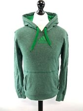 ADIDAS Mens Hoodie Jumper S Small Green Polyester