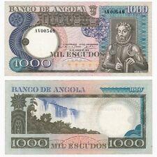1973 Angola 1000 ESCUDOS BANCONOTA-pag. 108-VF +.