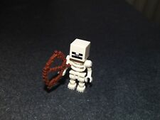 LEGO MINECRAFT SKELETON  + BOW FROM SET 21121 (BRAND NEW)