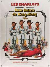Les CHARLOTS BONS BAISERS DE HONG KONG French Grande movie poster 47x63 1975
