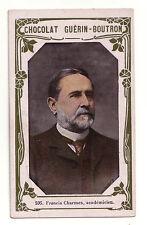 1900s French Trade Card Writer Dramatist Alexandre Dumas, fils (junior)