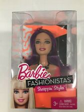 Barbie Fashionistas Swappin Styles Sassy Head