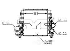 Intercooler TYC 18013 fits 11-12 Ford F-150 3.5L-V6