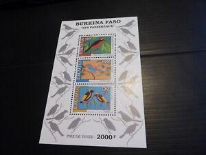 BURKINA FASO 1995 SG MS1121 BIRDS MNH