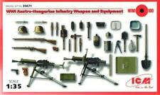 WW I AUSTRO-HUNGARIAN INFANTRY WEAPONS & EQUIPMENT SET 1/35 ICM ! RARE !