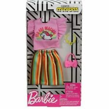 Barbie Doll Clothes & Accessories Complete Look Minions The Rise of Gru 2020