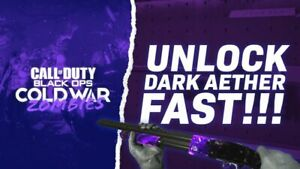 Call of Duty Cold War Zombies DARK AETHER FAST UNLOCK ✅✅✅ ALL WEAPONS