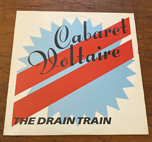 "Cabaret Voltaire - The Drain Train (1986, CAROL 2452) Double 12"" Albums"