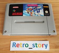 Super Nintendo SNES Winter Olympics PAL