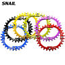 US Single 30T Round 6 Colors Narrow Wide Chainring 104bcd MTB Road Bike bolts