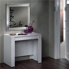 13casa Granada A1 tavolo Estensibile. Dim. 90*50-237*78h - melamina Bianco Lucid