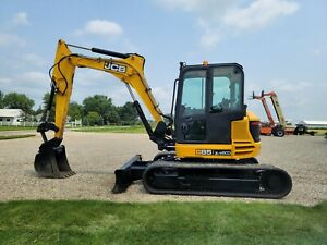 2016 JCB 85Z-1 Excavator  Tag Quick Coupler FINANCING + SHIPPING Deere