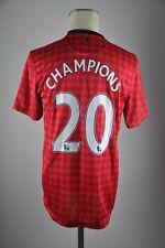 Manchester United Trikot Gr M 2012-2013 Home Shirt AON Nike Jersey #20 Champions