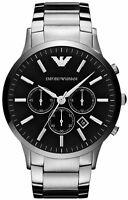 Emporio Armani AR2460 Black Face Classic Chronograph Mens Watch