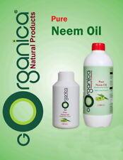 NEEM oil Cold Pressed Organic CARRIER BASE OIL Pure Natural Premium massage oil