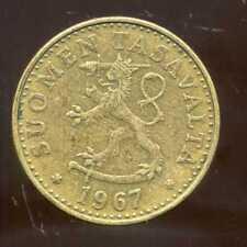 FINLANDE 20 pennia 1967