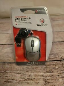 Targus PAUM01U Retractable Ultra-Portable Notebook Laptop Mouse New and Sealed