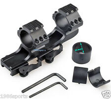 """Release Scope Mount 1""""25mm/30mm Dual Ring Cantilever Heavy Duty Rail 20mm #m21"""
