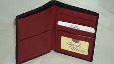 Osgoode Marley 1245 Black Cashmere Leather RFID Hipster Wallet