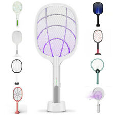 Hot Mosquito Swatter USB Charging Electric Flies Insect Killer Bug Zapper Racket