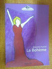 LIBRO GIACOMO PUCCINI - LA BOHEME - TEATRO MASSIMO STAGIONE 2000