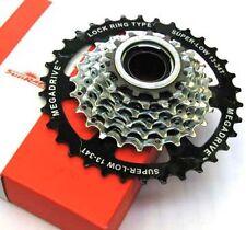 Sunrace 7 speed Freewheel Screw on MTB Bicycle Bike Cycle Megarange 13/34T