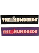 The Hundreds Sticker Duo