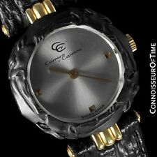 Carrera y Carrera Ladies Leopard Watch - 18K Gold & Sculptured Titanium - Mint