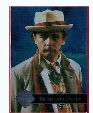Doctor Who Trading Cards Chase Card Seventh Doctor Cornerstone 1996 Mint