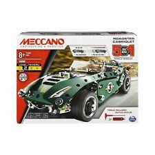 Meccano 6040176 5-in-1 Roadster Cabriolet Model Set