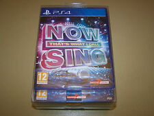 Now That's What I Call Sing With One Mic PS4 **New & Sealed**